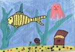 8-9 лет :: Подводный мир